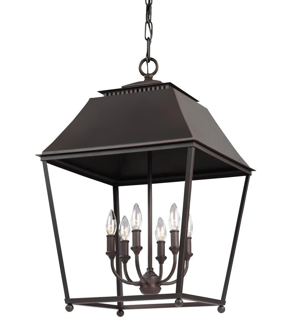Feiss - Galloway 26.5 Inch 6 Light Pendant