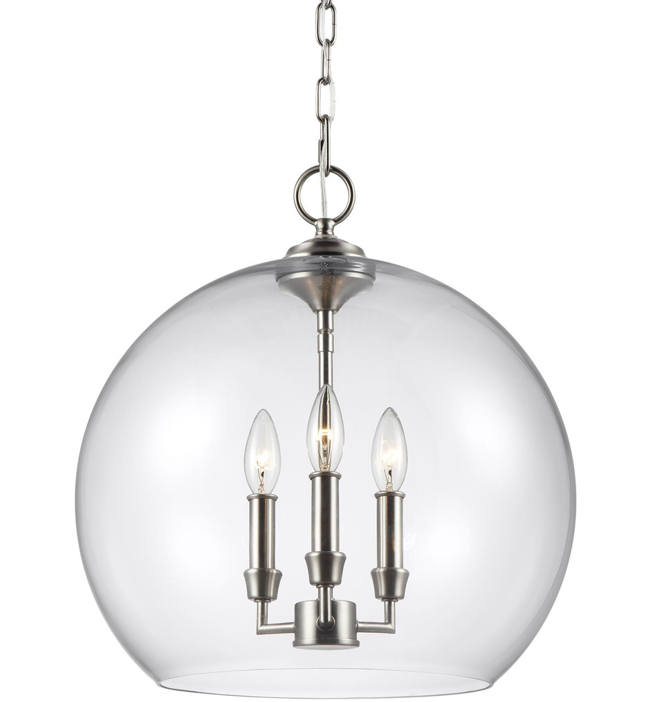 Feiss - Lawler 16 Inch 3 Light Pendant