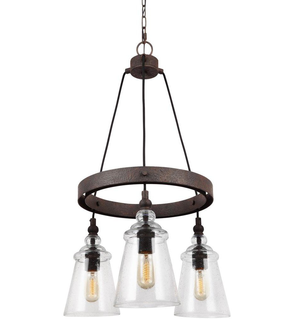 Feiss - Loras 3 Light Chandelier