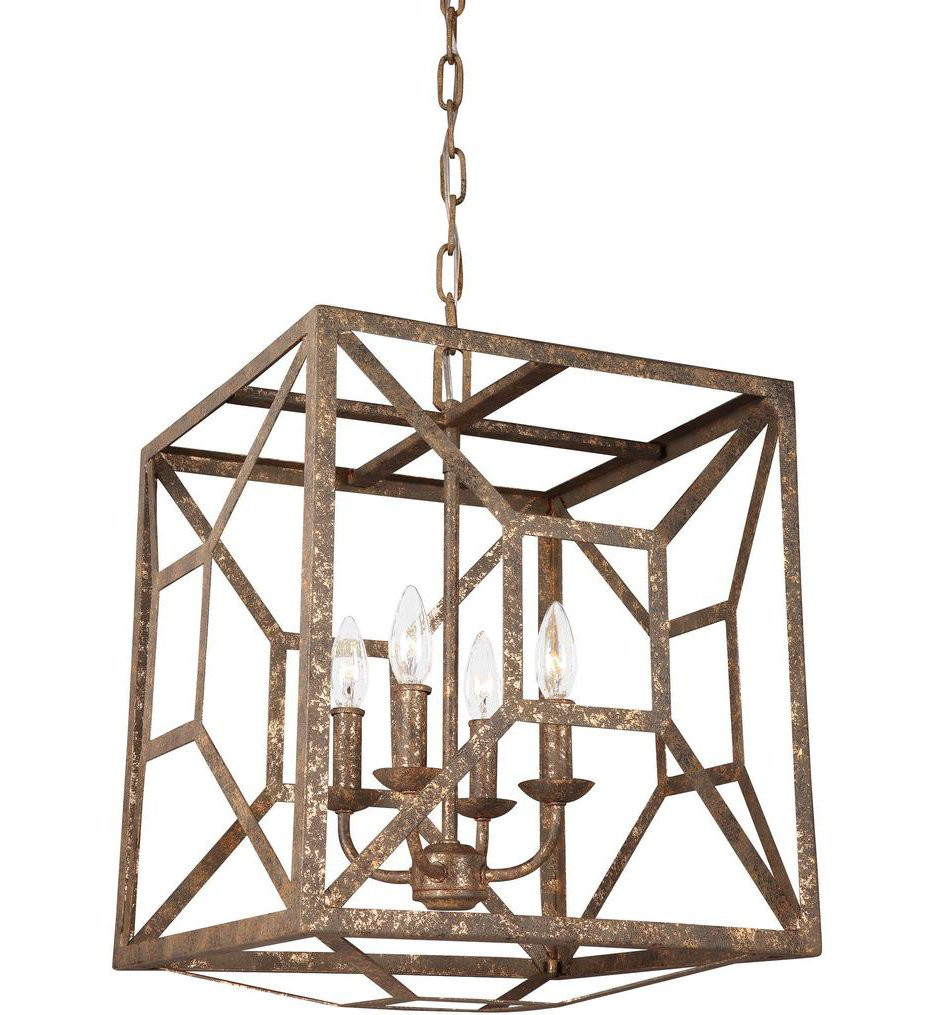 Feiss - Marquelle 4 Light Chandelier