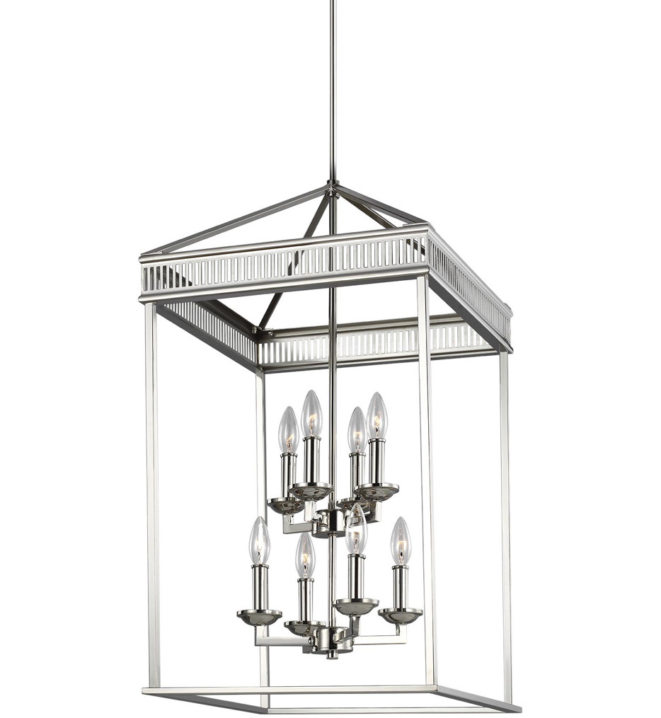 Feiss - Woodruff 17 Inch 8 Light Chandelier