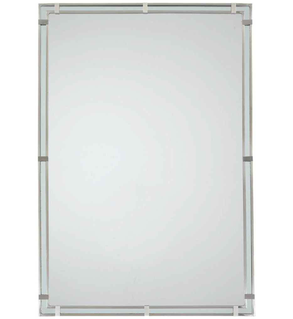 Feiss - MR1089BS - Parker Place Brushed Steel Light Mirror