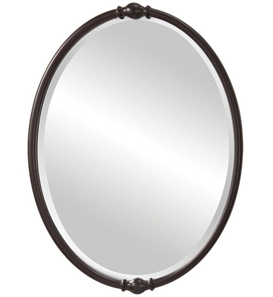 Feiss - MR1119ORB - Jackie Oil Rubbed Bronze 32.88 Inch Mirror
