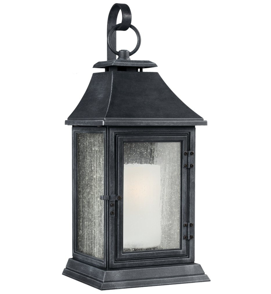 Feiss - Shepherd 35.13 Inch Outdoor Wall Sconce