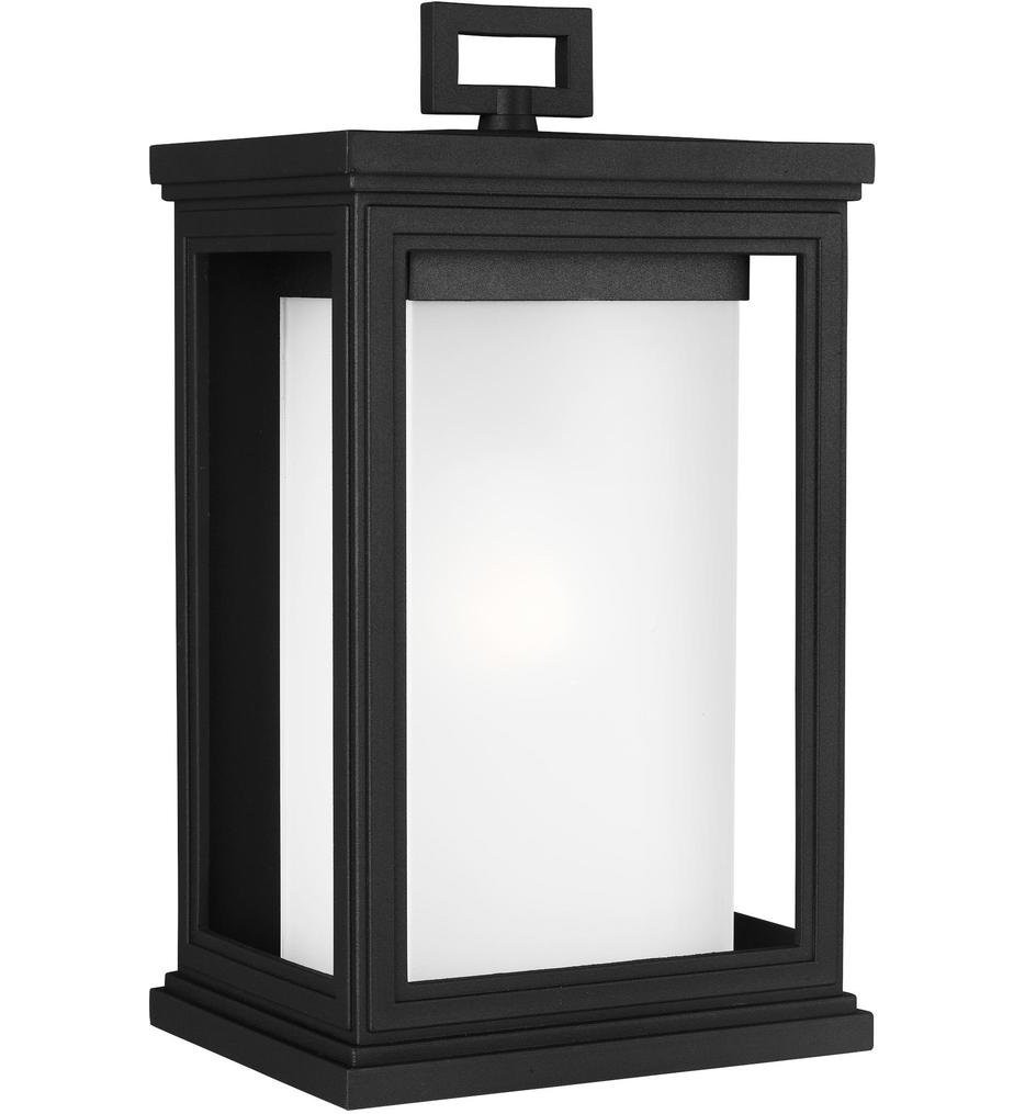 Feiss - OL12901TXB - Roscoe Textured Black 13.5 Inch Outdoor Wall Lantern