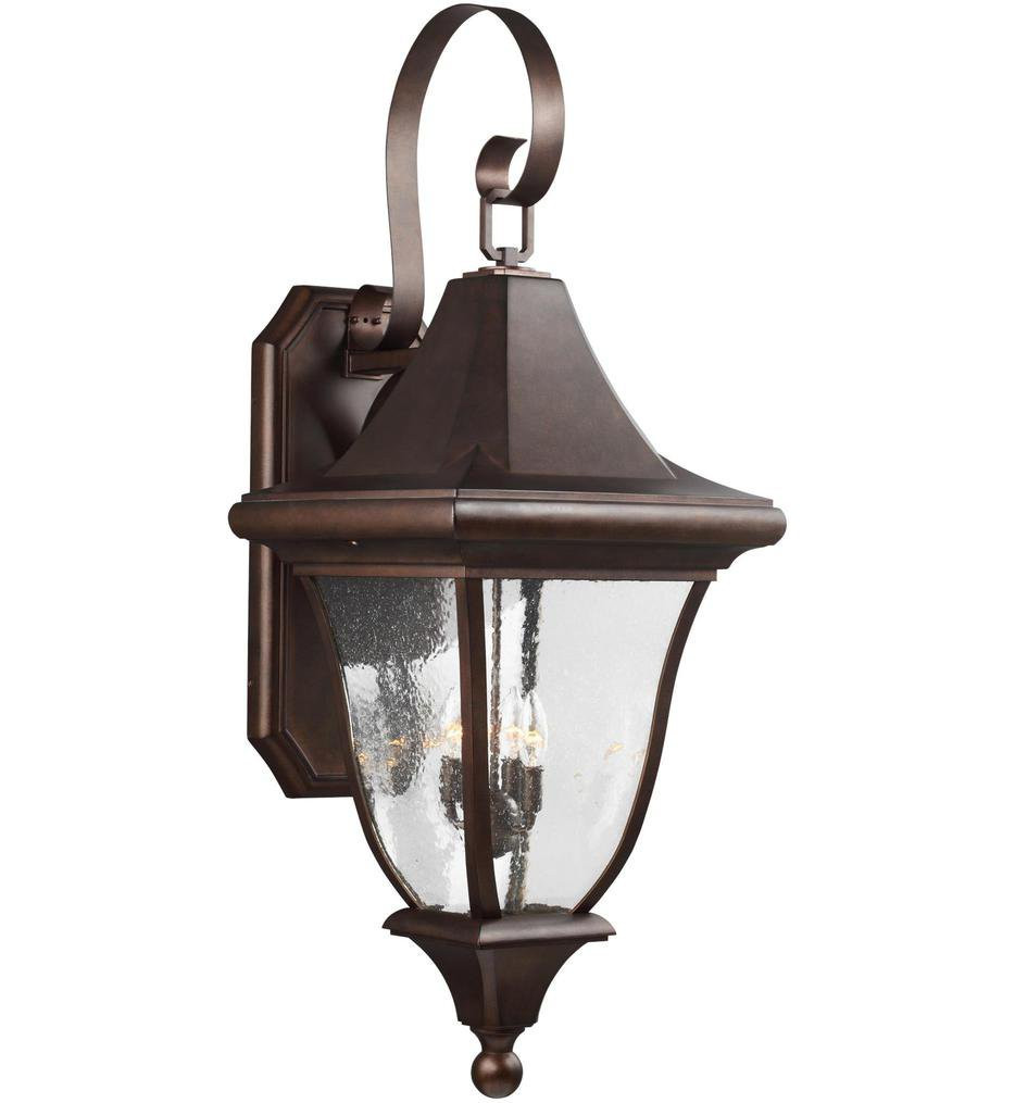 Feiss - OL13103PTBZ - Oakmont Patina Bronze 4 Light Outdoor Wall Lantern