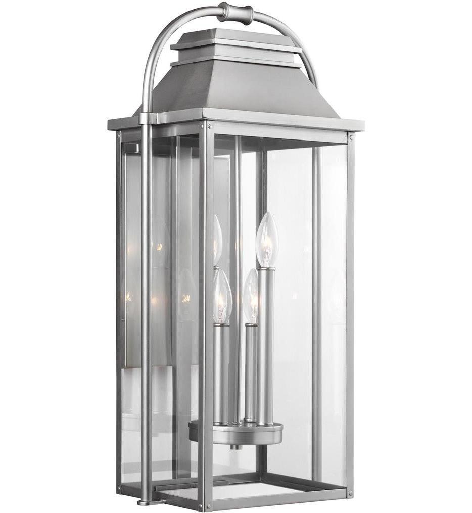 Feiss - Wellsworth 4 Light Outdoor Wall Lantern
