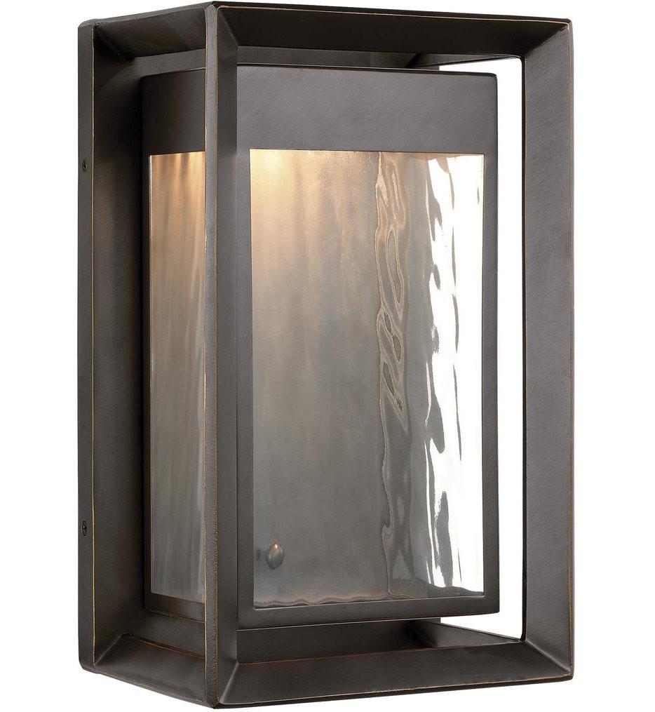 Feiss - OL13701ANBZ-L1 - Urbandale Antique Bronze 13 Inch 1 Light Outdoor Wall Lantern
