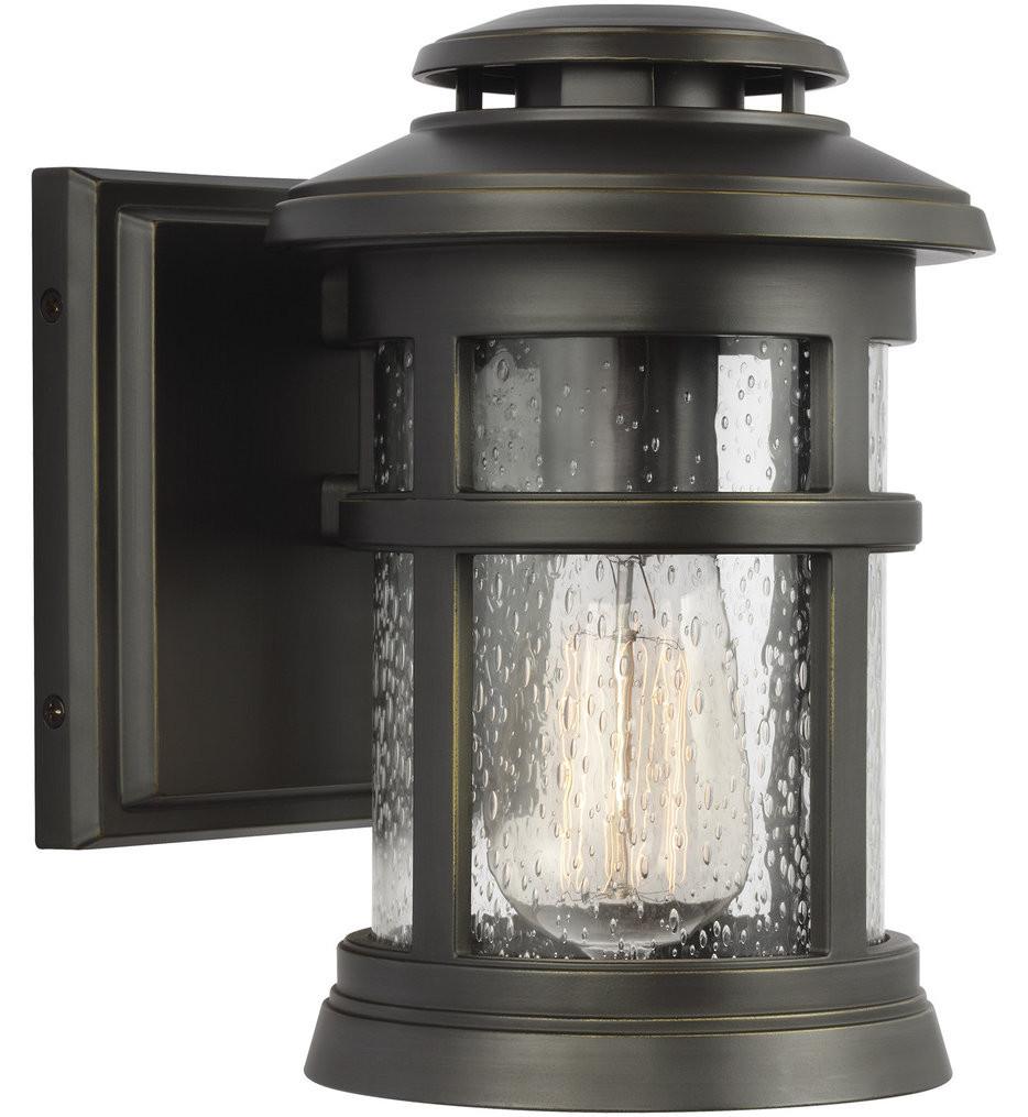 Feiss - Newport 9 Inch 1 Light Outdoor Wall Lantern