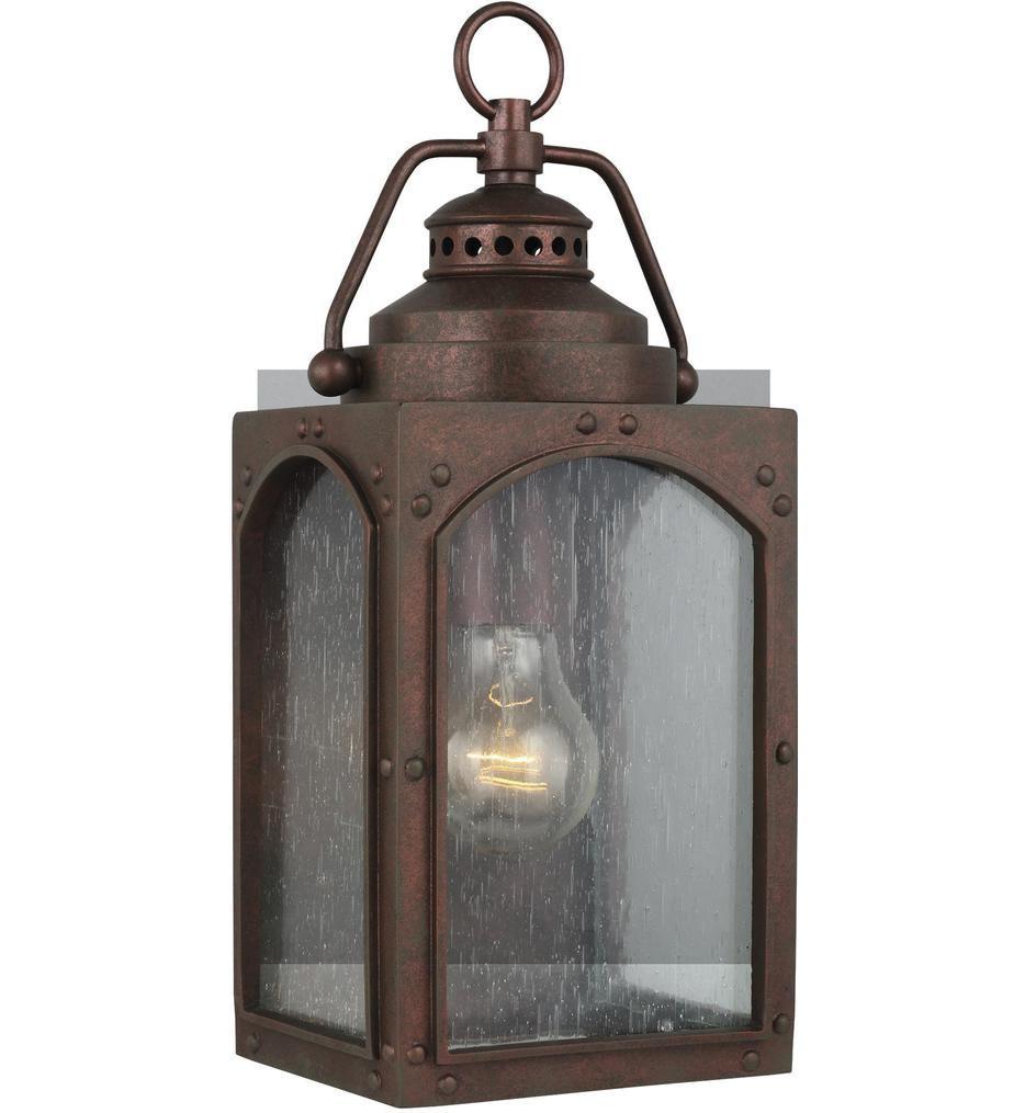 Feiss - OL14370CO - Randhurst Copper Oxide 13.5 Light 1 Light Outdoor Wall Lantern