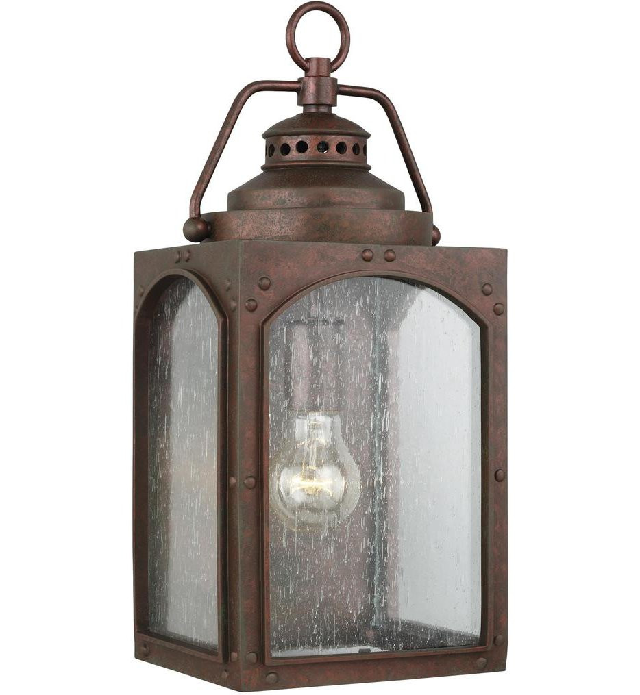 Feiss - OL14371CO - Randhurst Copper Oxide 16.25 Light 1 Light Outdoor Wall Lantern
