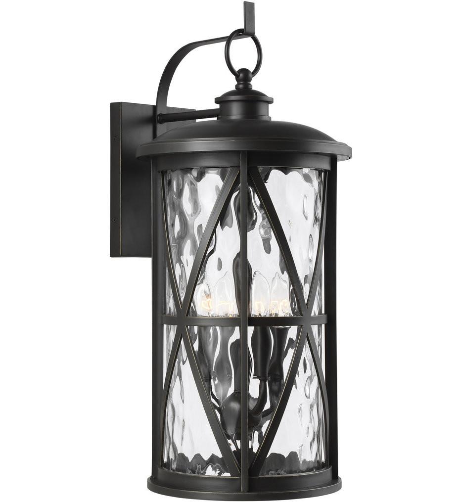 Feiss - OL15204ANBZ - Millbrooke Antique Bronze 4 Light Outdoor Wall Lantern