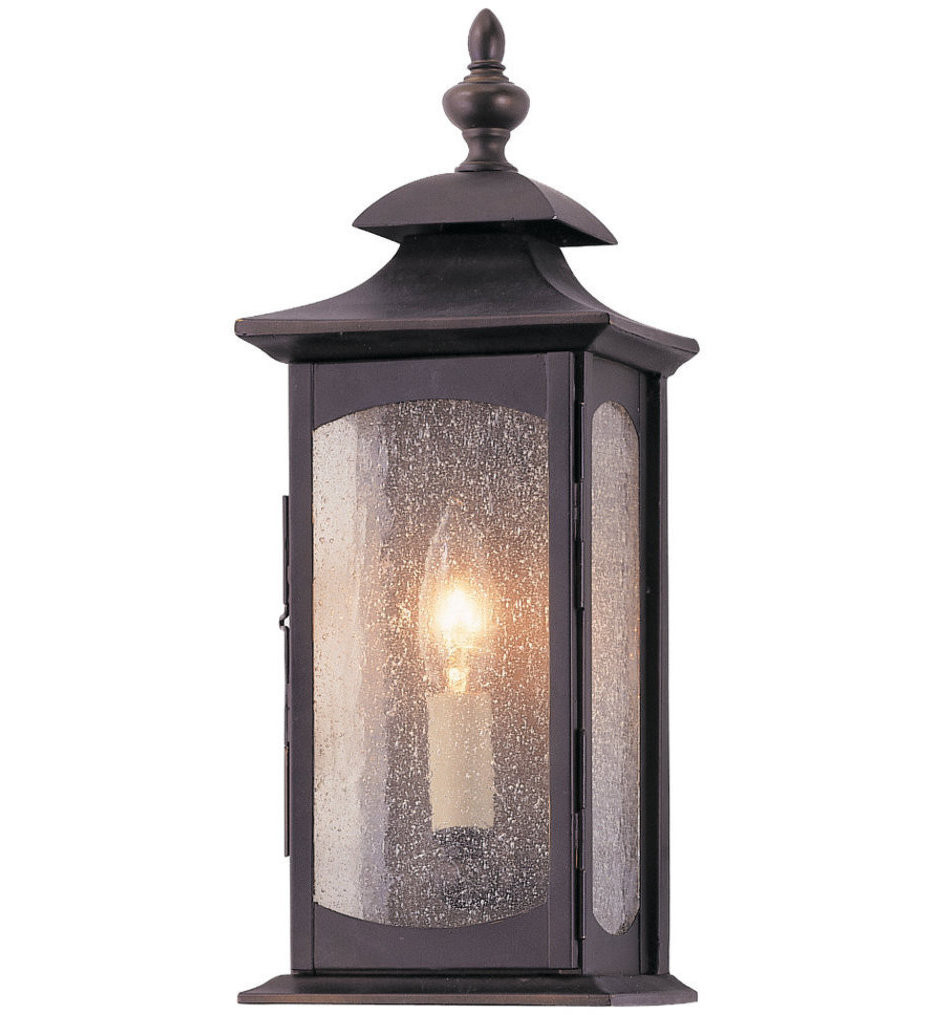 Feiss - OL2600ORB - Market Square Oil Rubbed Bronze 1 Light Outdoor Wall Lantern