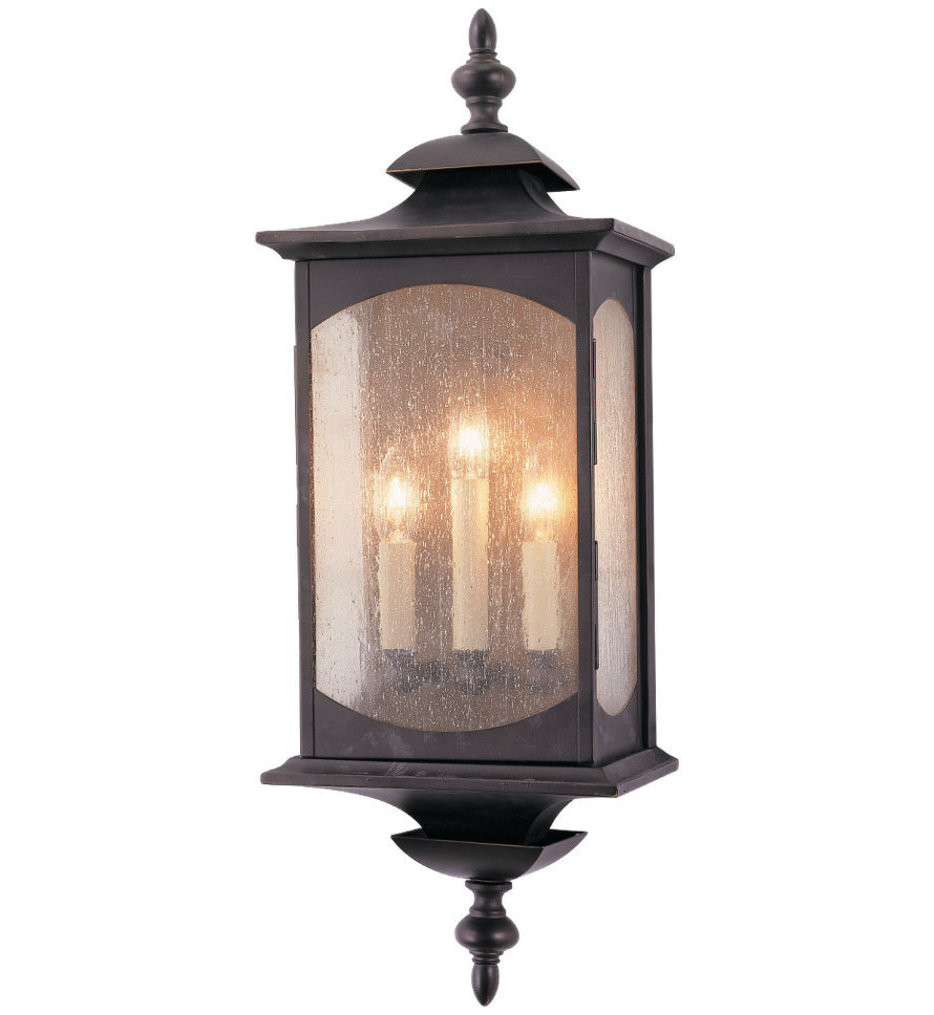 Feiss - OL2602ORB - Market Square Oil Rubbed Bronze 3 Light Outdoor Wall Lantern