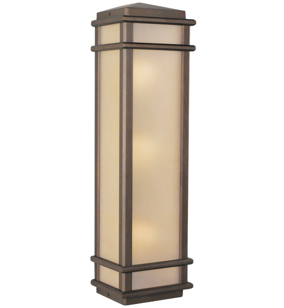 Feiss - Mission Lodge 26 Inch Outdoor Wall Lantern