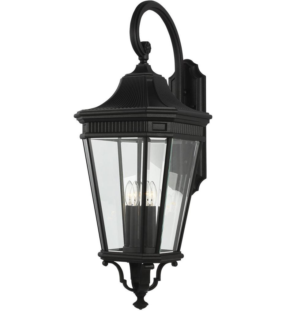 Feiss - Cotswold Lane 36.25 Inch 4 Light Outdoor Wall Lantern