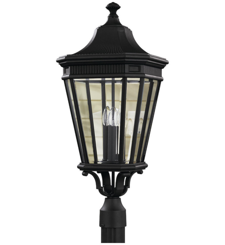 Feiss - Cotswold Lane 27.5 Inch Outdoor Post Light