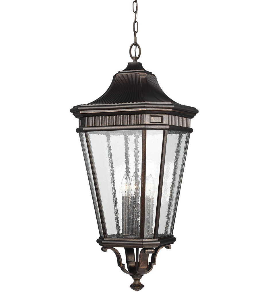 Feiss - Cotswold Lane 4 Light Outdoor Hanging Lantern