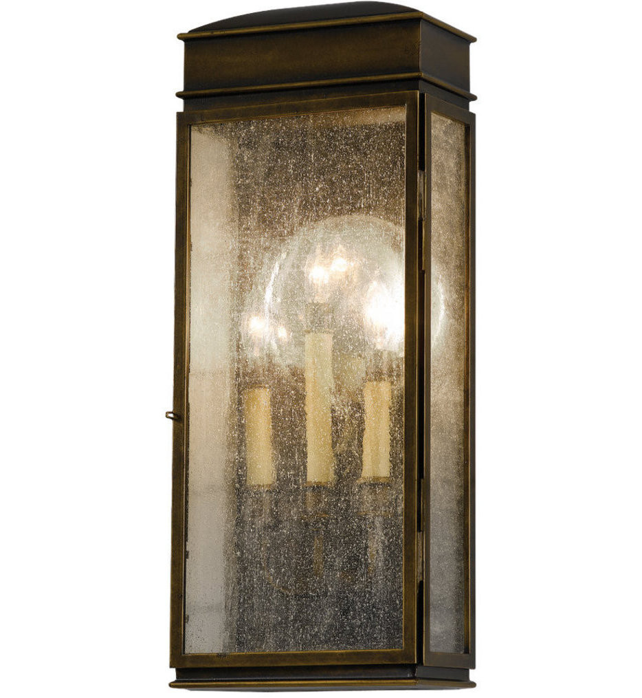 Feiss - OL7402ASTB - Whitaker Astral Bronze 3 Light Outdoor Wall Lantern