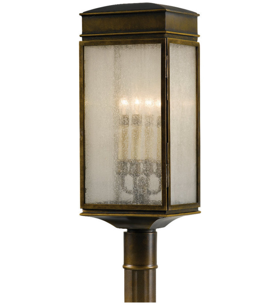 Feiss - OL7407ASTB - Whitaker Astral Bronze 4 Light Outdoor Post Light