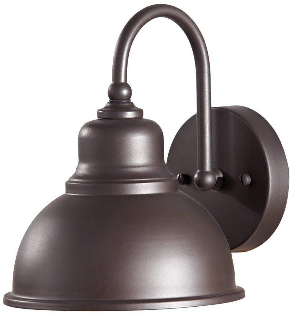 Feiss - OL8701ORB - Darby Oil Rubbed Bronze 1 Light Outdoor Wall Sconce