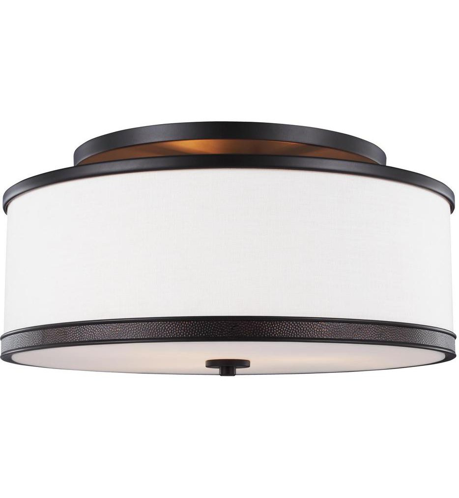 Feiss - SF337ORB - Marteau Oil Rubbed Bronze 3 Light Semi-Flush