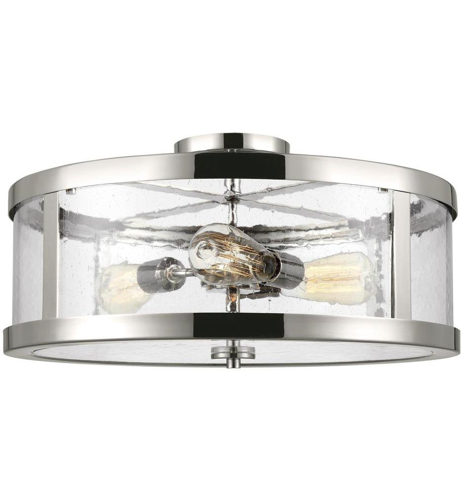 Feiss - Harrow 3 Light Semi-Flush