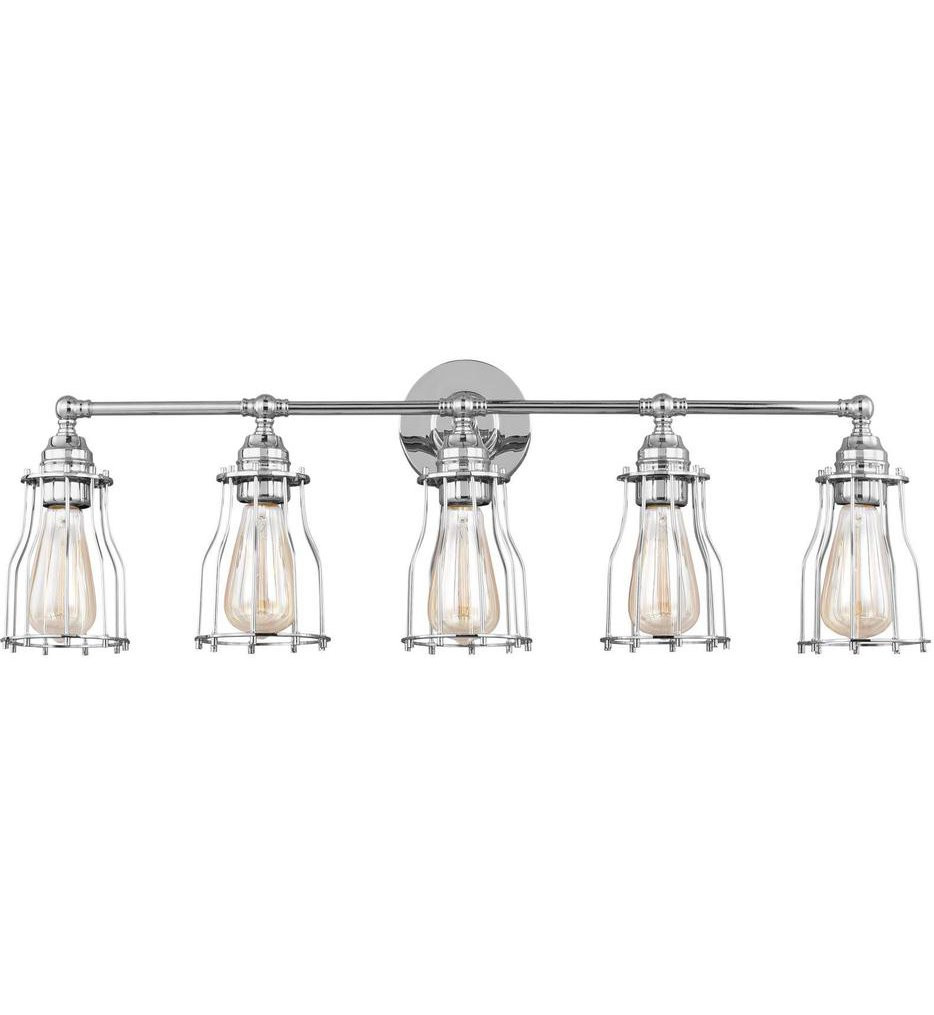 Feiss - Calgary 5 Light Bath Vanity Light