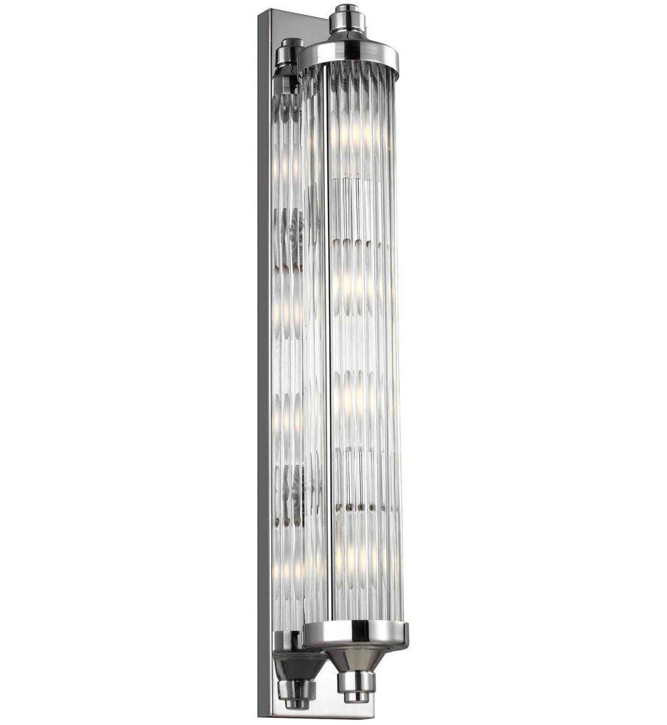 Feiss - VS24104CH - Paulson Chrome 4 Light Bath Vanity Light