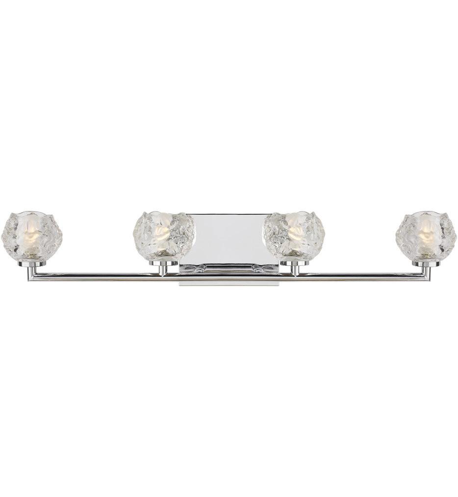 Feiss - VS24334CH-L1 - Arielle Chrome 4 Light Bath Vanity Light