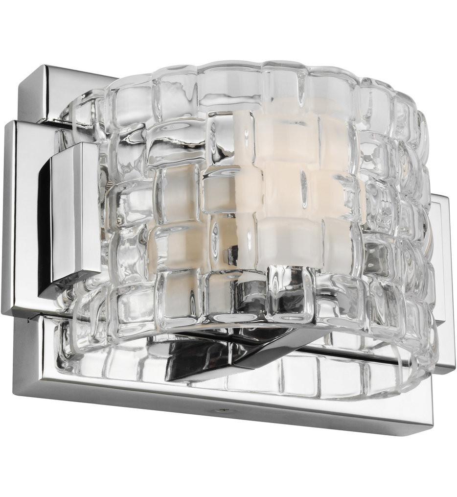 Feiss - Brinton Chrome 1 Light Wall Sconce