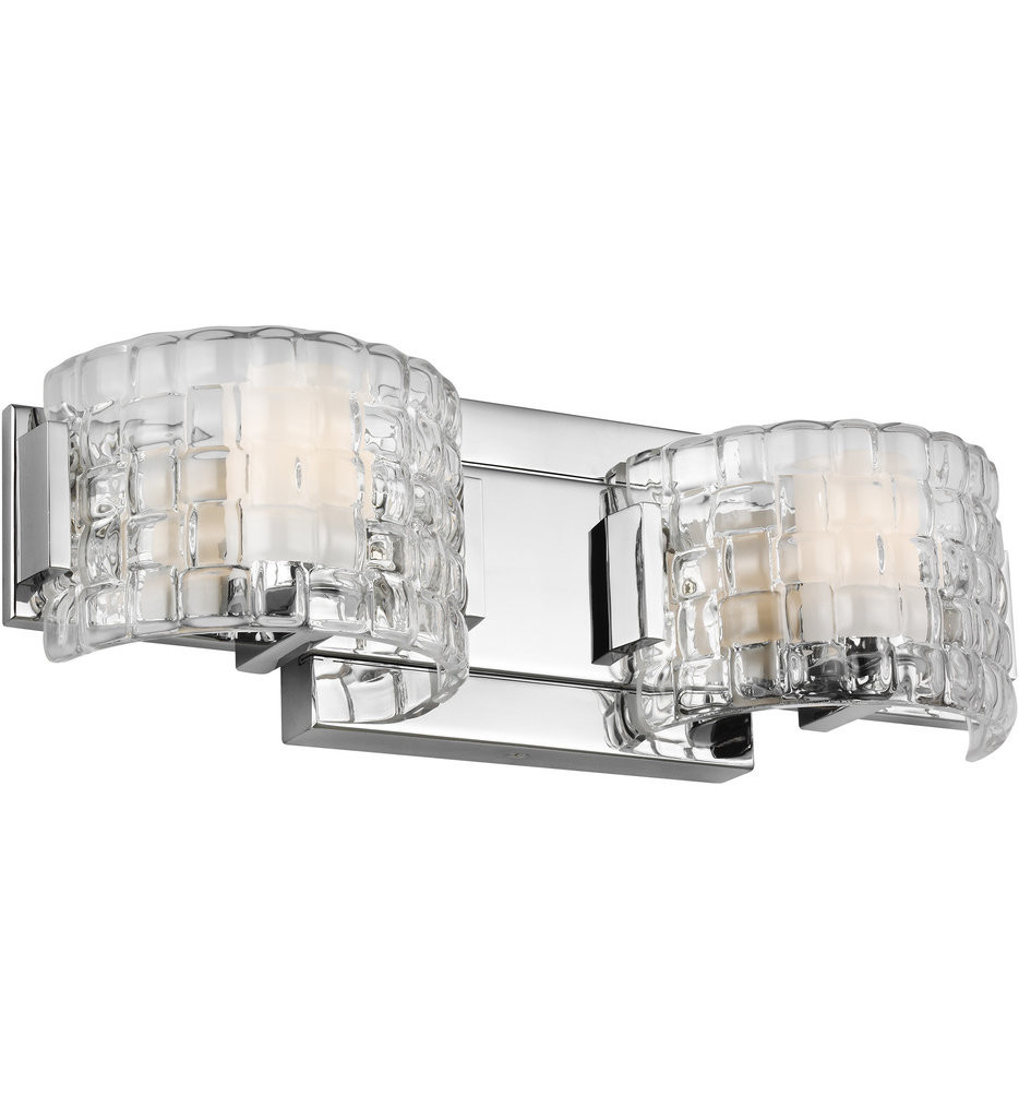 Feiss - Brinton Chrome 2 Light Bath Vanity Light