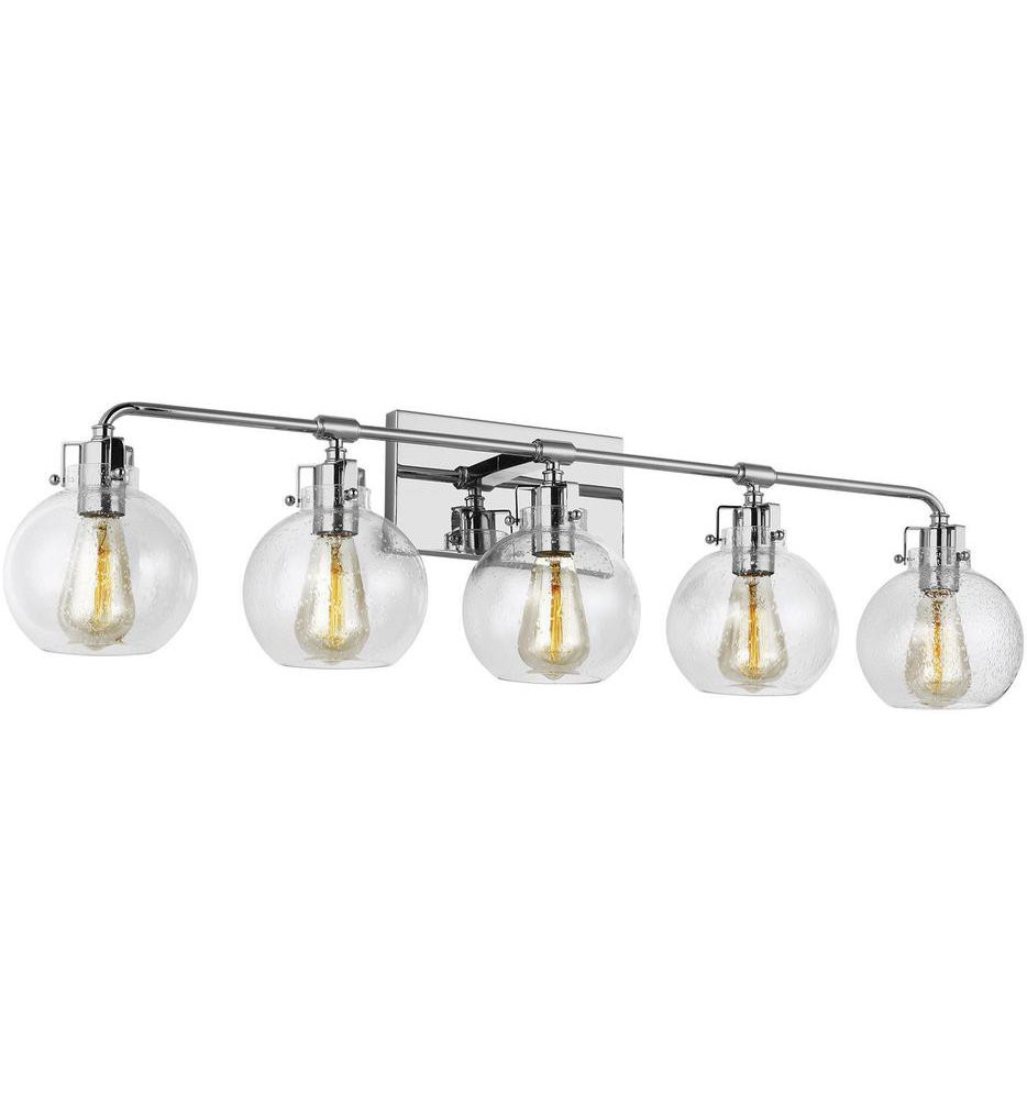 Feiss - Clara 5 Light Bath Vanity Light