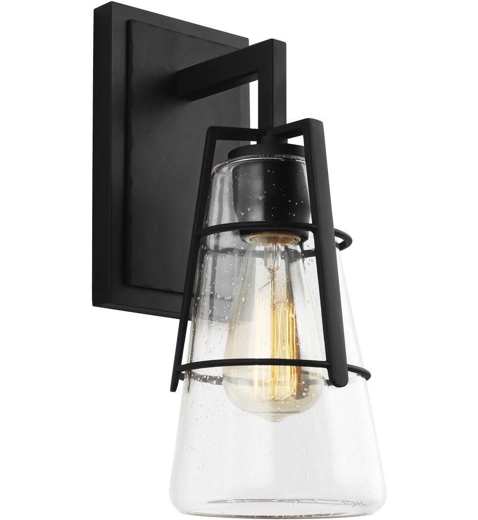 Feiss - VS2471MBK - Adelaide Midnight Black 1 Light Bath Vanity Light