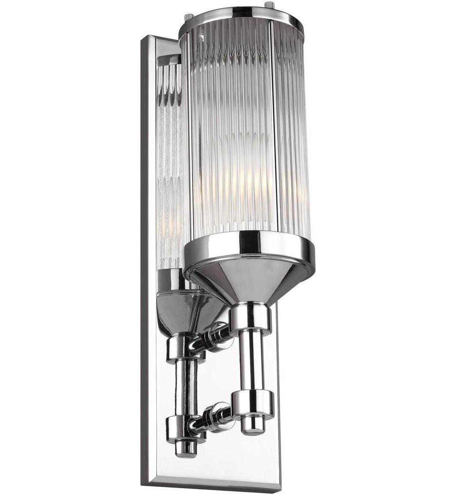 Feiss - WB1841CH - Paulson Chrome 1 Light Wall Sconce