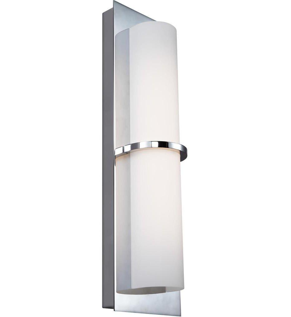 Feiss - WB1851CH-L1 - Cynder Chrome 18 Inch Bath Vanity Light