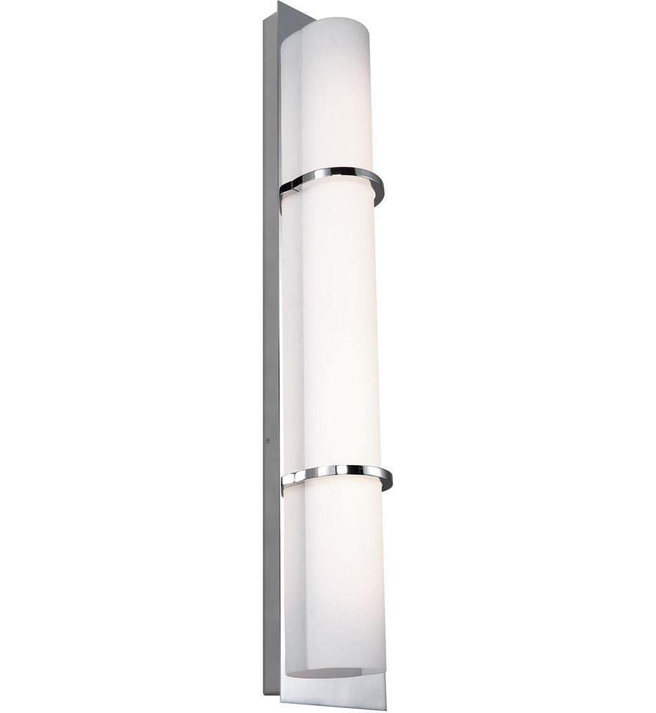 Feiss - WB1852CH-L1 - Cynder Chrome 28 Inch Bath Vanity Light