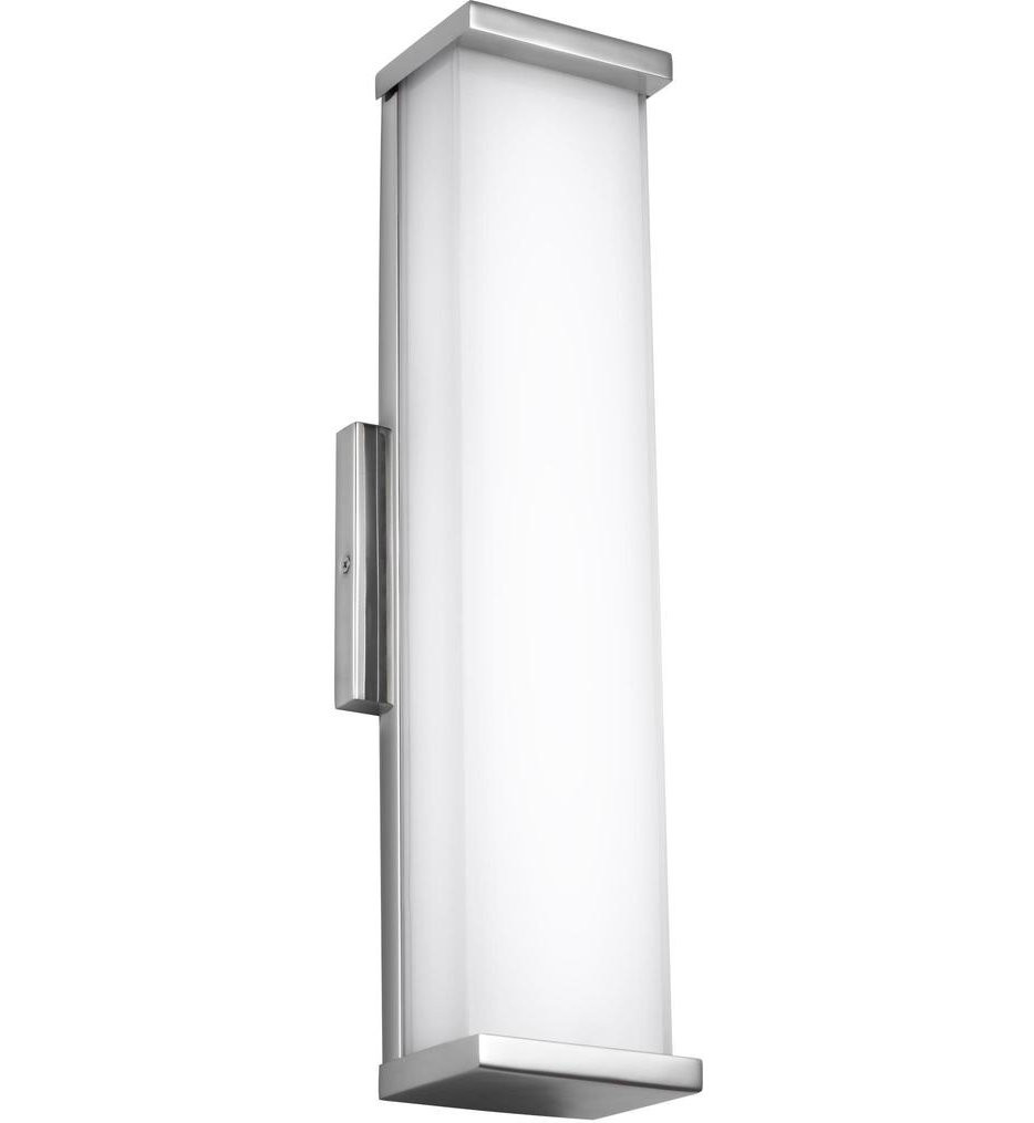 Feiss - WB1863PST-L1 - Altron Polished Stainless Steel 18.5 Inch Outdoor Wall Sconce