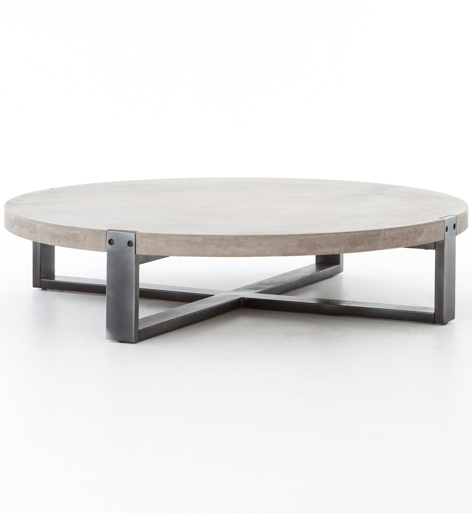 Brendlen + Morris - VBNA-CT415 - Bina Mercury Round Coffee Table