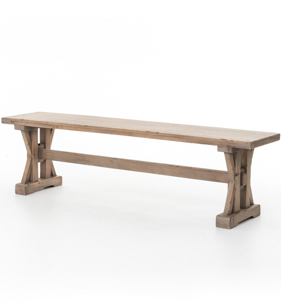 Brendlen + Morris - Tuscan Spring Sundried Wheat Dining Bench