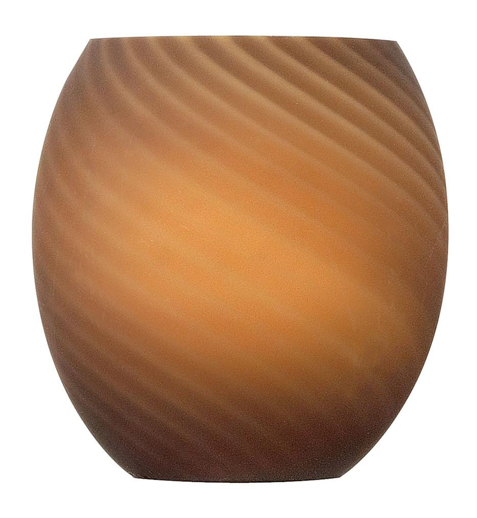 Fredrick Ramond - FR88508GL - Sandstone Luxe Round Glass Shade