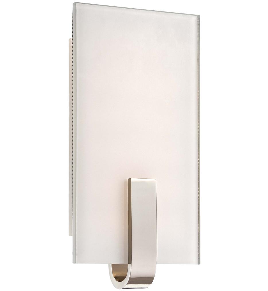 George Kovacs - P1140-613-L - Polished Nickel LED Wall Sconce