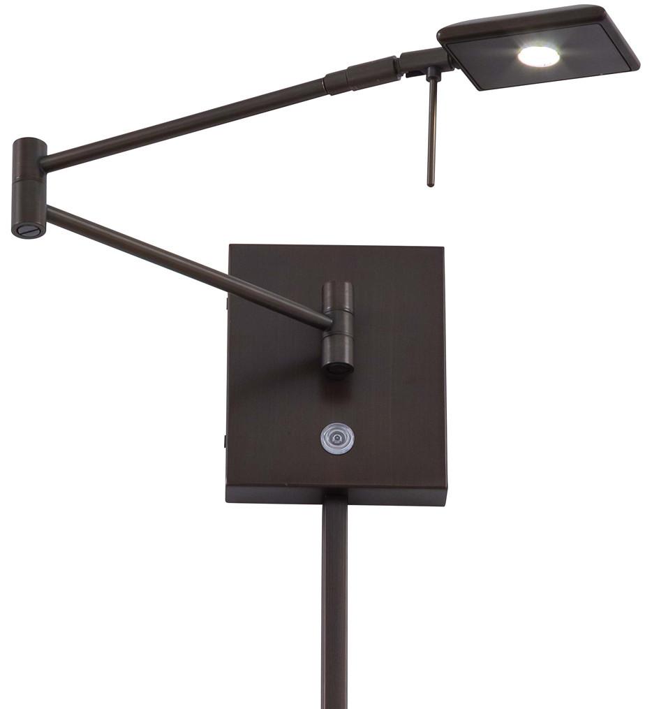 George Kovacs - George's Reading Room 1 Light LED Swing Arm Wall Lamp