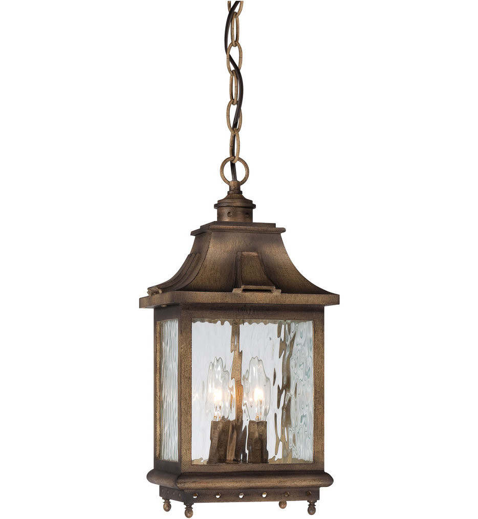 The Great Outdoors - 72114-149 - Wilshire Park 16 Inch Portsmouth Bronze Outdoor Pendant