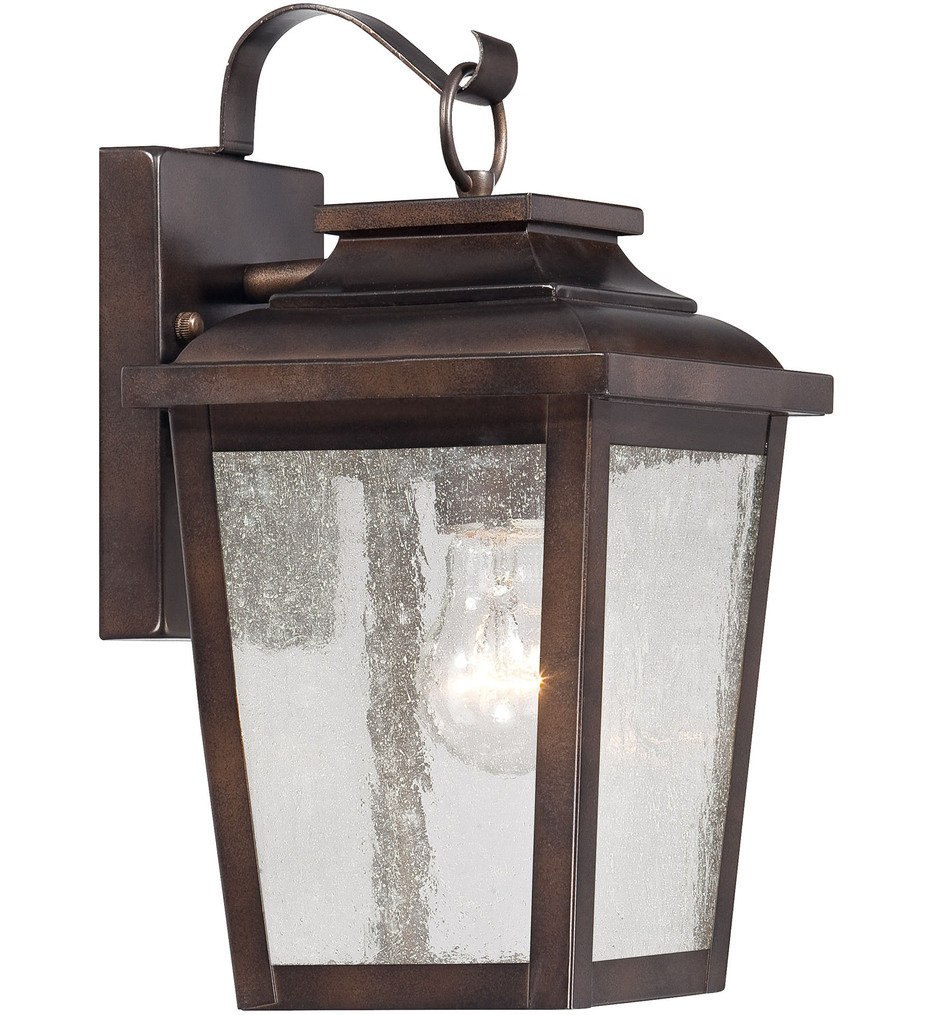 The Great Outdoors - 72171-189 - Irvington Manor 12 Inch Chelsea Bronze Outdoor Wall Sconce