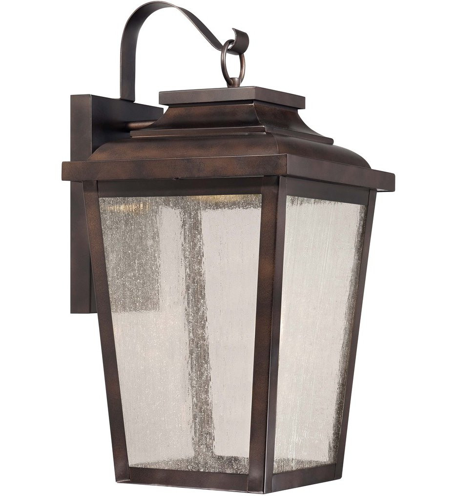 The Great Outdoors - 72173-189-L - Irvington Manor Chelesa Bronze 20.75 Inch 1 Light Outdoor Wall Lantern