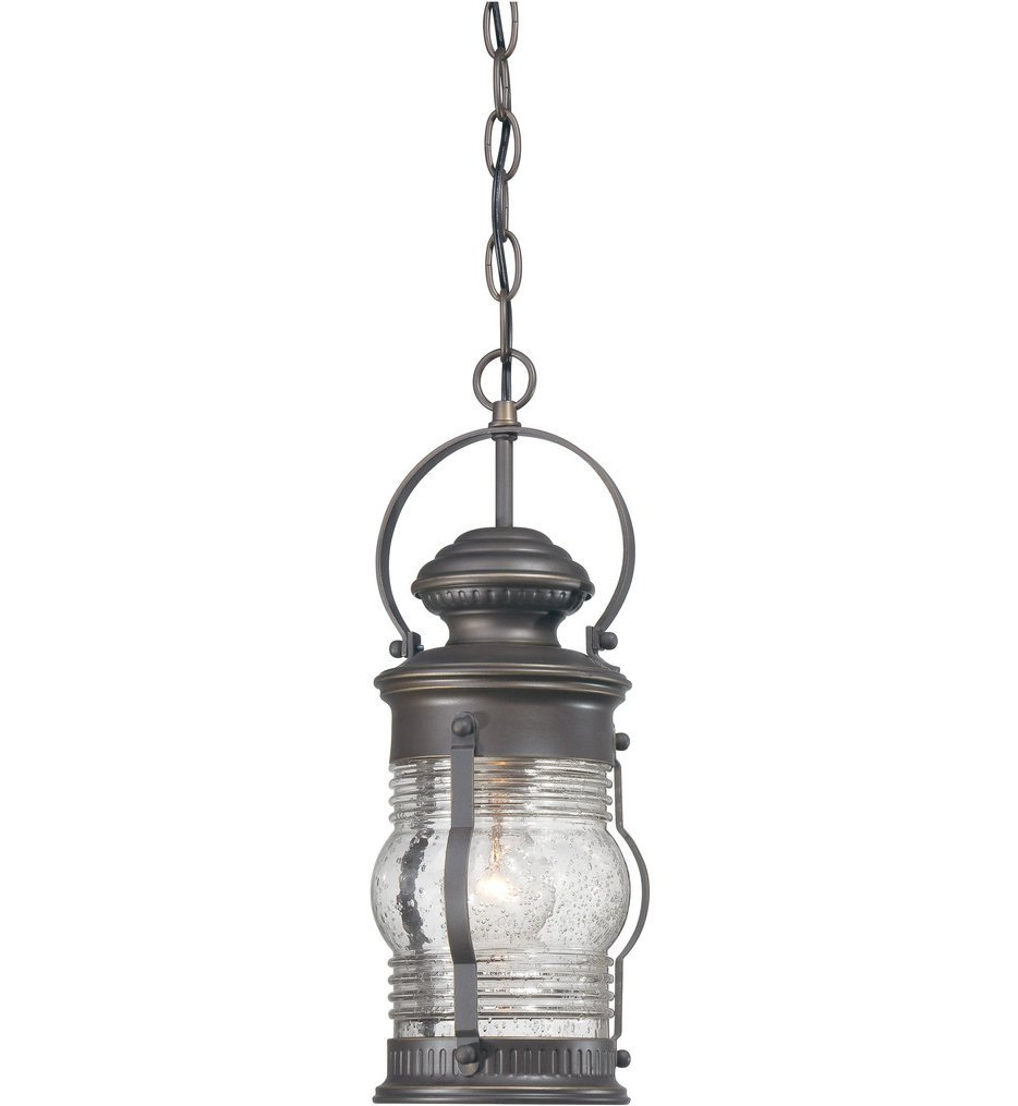 The Great Outdoors - 72234-143C - Lynnfield 16 Inch Oil Rubbed Bronze Outdoor Pendant