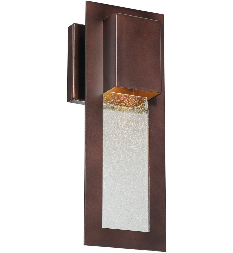 The Great Outdoors - 72381-246 - Westgate 13 Inch Alder Bronze Outdoor Wall Sconce