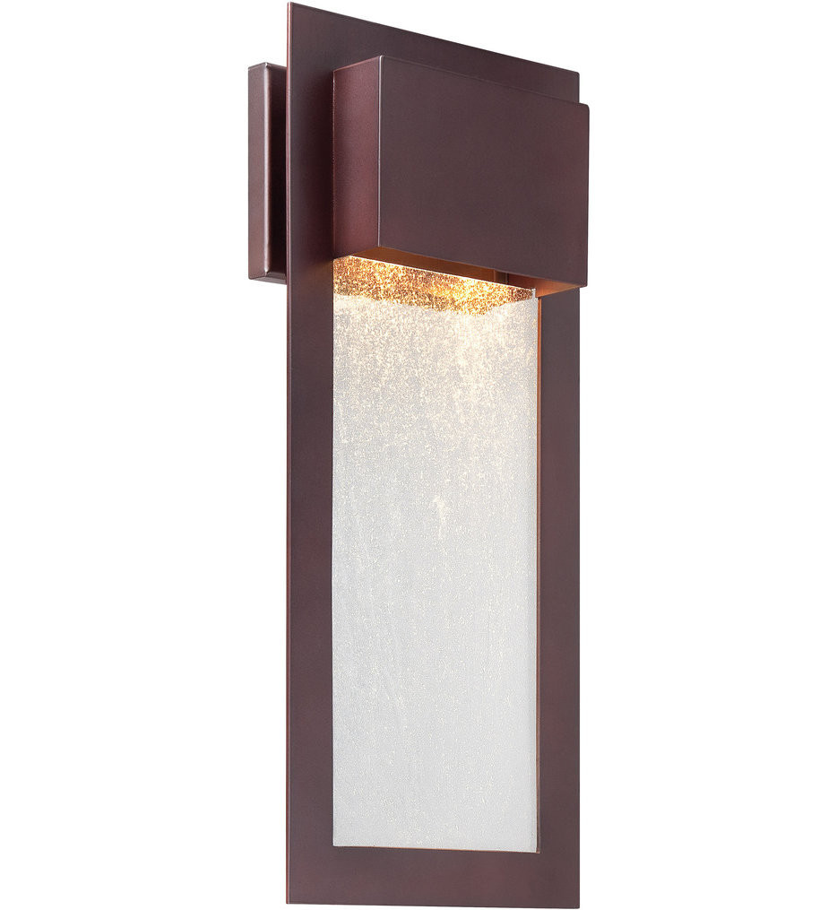 The Great Outdoors - 72383-246 - Westgate 20 Inch Alder Bronze Outdoor Wall Sconce