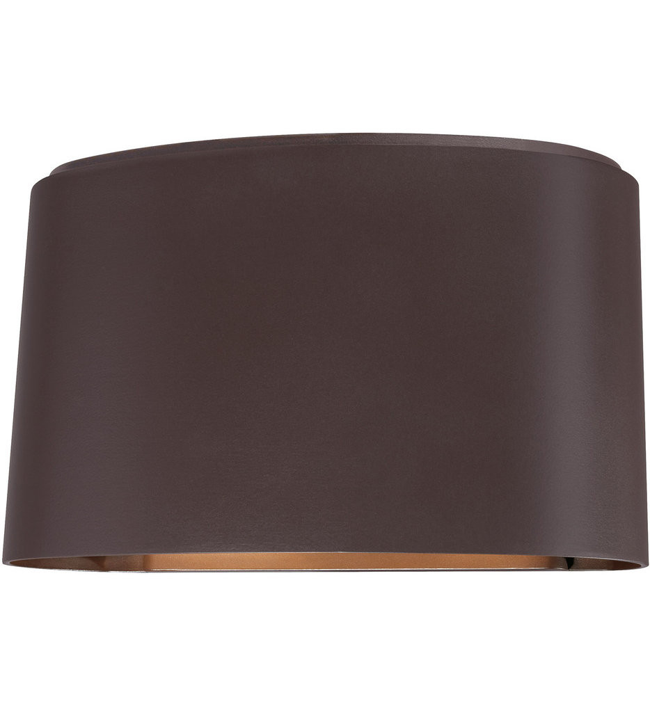 The Great Outdoors - 72400-615B - Everton 4.75 Inch Dorian Bronze Outdoor Wall Sconce
